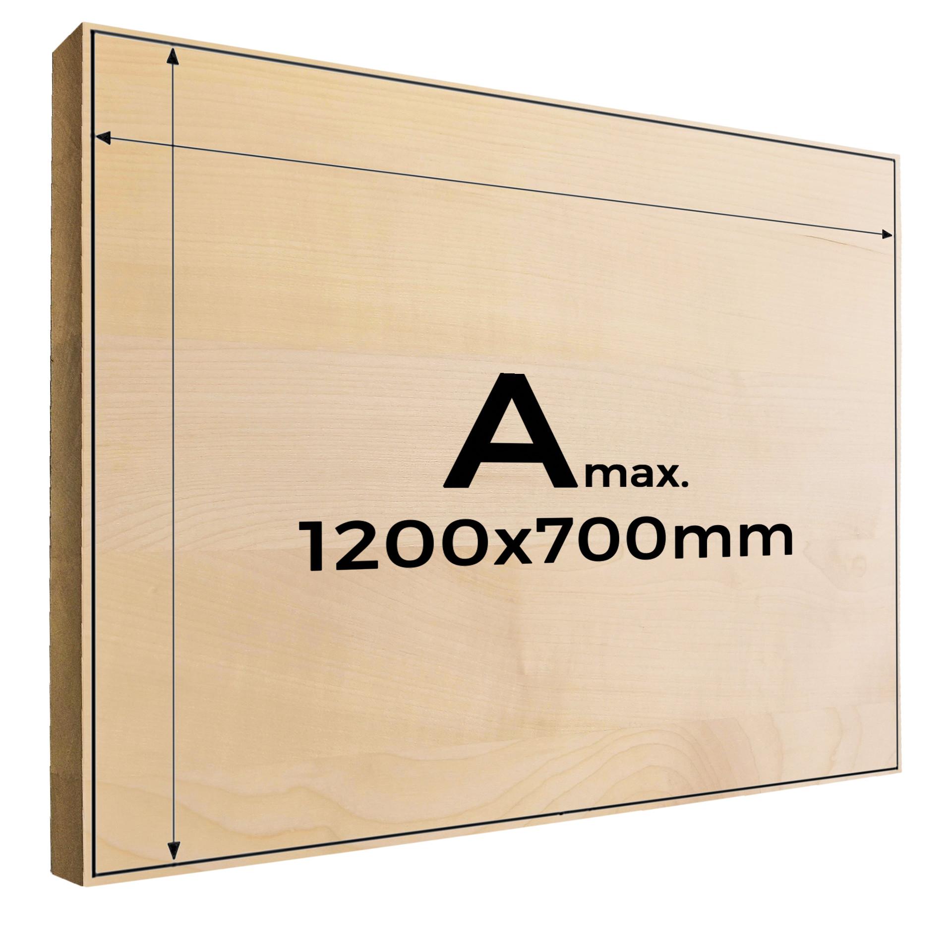 Fotogravur auf Holz Amax